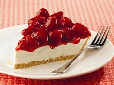 Lucky Leaf no-bake Strawberry Cream Cheese Passion Pie