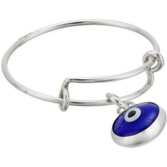 Alex and Ani Evil Eye Expandable Wire Ring (524.780 IDR) ❤ liked on Polyvore featuring jewelry, rings, adjustable rings, alex and ani rings, alex and ani jewelry, 14k ring and alex and ani