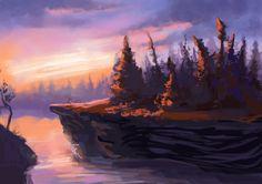 Landscape practice1 by CriAnn on deviantART