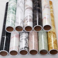 New Marble Contact Paper Film Vinyl Self Adhesive Decor Wallpaper Sheets 0.6x5M