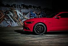 Hit the streets for your next night out in style. #Ford Mustang