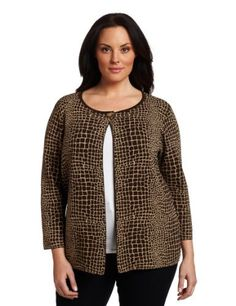 Jones New York Women's Cardigan Jones New York. $149.00. 55% Rayon/45% Nylon. Great for travel. Knit dressing. Machine Wash. Made in China