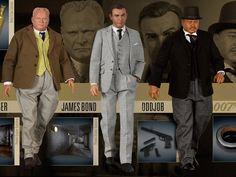 Fantastische 1/6 JAMES - BOND GOLDFINGER Actionfiguren eingetroffen, jetzt bei uns im Laden oder online erhältlich. James Bond, Movies, Movie Posters, Objects, Nice Asses, Films, Film Poster, Cinema, Movie