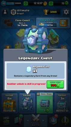 My second legendary chest from battle!