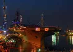 USS Kitty Hawk at Yokosuka, Japan
