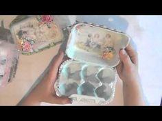 Wild Bunch - Altered Egg Cartons - Becca