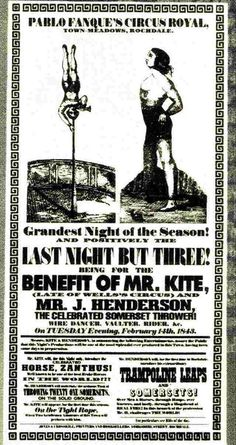 Being for the benefit of Mr. Kite