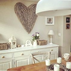 Wall art heart