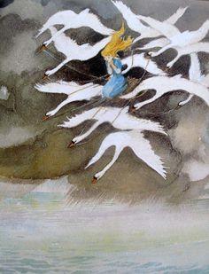 Svend Otto Sørensen | ILLUSTRATION | The Wild Swans