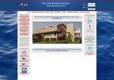 Página web del Real Club Marítimo del Abra -Real Sporting Club. Actividades, historia, fotos, escuela de vela