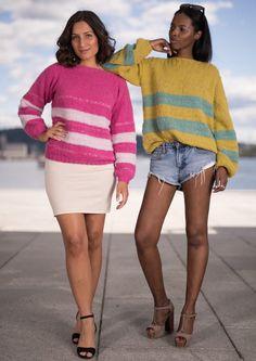 Garnpakke: Alettegenser i Faerytale (dame) - Knitting Inna Knitting, Sweaters, Dresses, Style, Fashion, Pink, Caps Hats, Threading, Summer