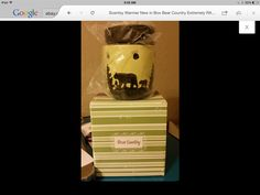 Scentsy Bear Country warmer