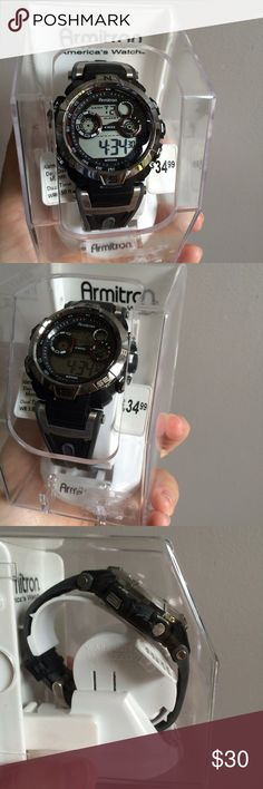 NWT Armitron Men's Digital Watch Brand new in box. Retail $34.99. Armitron Accessories Watches