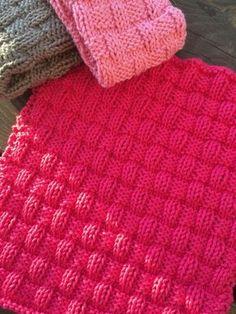 Disktrasan Rut mönster Baby Knitting Patterns, Knitting Stitches, Crochet Patterns, Knit Dishcloth, Textiles, Cute Designs, Knitting Projects, Knit Crochet, Blanket