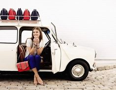 Mini used in Accessorize SS 2014 advertising campaign
