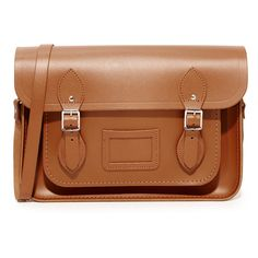 """Cambridge Satchel 13"""""""" Magnetic Satchel ($240) ❤ liked on Polyvore featuring bags, handbags, vintage, vintage purses, brown leather handbags, vintage handbags, vintage leather purse and brown leather purse - Sale! Up to 75% OFF! Shop at Stylizio for women's and men's designer handbags, luxury sunglasses, watches, jewelry, purses, wallets, clothes, underwear"""