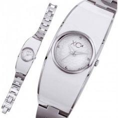 Ladies stainless steel VOLGA white watches - Xc38