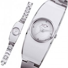 Ladies stainless steel VOLGA white watches - Xc38
