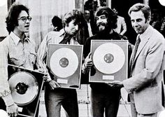 """vinylespassion """"Creedence Clearwater Revival Receives three gold records from…"""