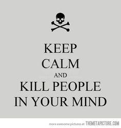 Please, keep calm...