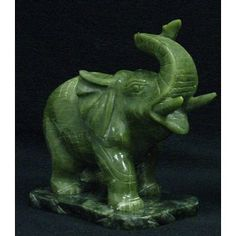 Asian marbled jade elephant