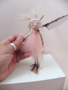 6 inch poseable pixie fairy by DinkyDarlings