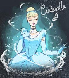 Princesse  Cendrillon , siii ✨Magnifique✨ ~  Cendrillon  ~ [Disney]