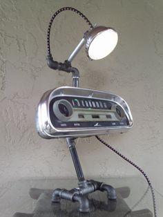 Auto gauge lamp