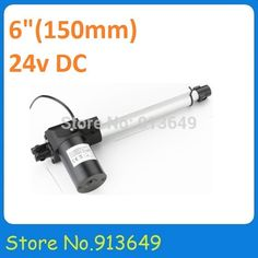 Low Noise Bed Linear Actuator For Hospital Bed-24VDC stroke 150mm DC linear actuator, 6000N linear actuator-1pc