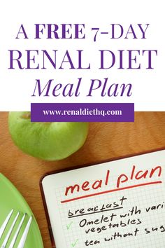 Looking for a free renal diet meal plan to help you manage chronic kidney disease? Renal diet meal planning and following a kidney disease diet strictly can be challenging, but this free list of renal diet meals will make things easier. Grab your free kidney diet meal plan here and get started with your kidney diet meal prep today!   Renal Diet Meal Plans   Kidney Disease Diet Meals   Renal Diet Meals #KidneyDiseaseDiet #RenalDiet #ChronicKidneyDisease #KidneyDiet #KidneyDisease