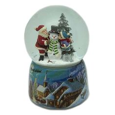 Snow Globes, Home Decor, Cat Fishing, Music And Movement, Snowball, Christmas Themes, Papa Noel, Decoration Home, Room Decor