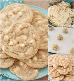 Fields White Chocolate Chip Cookies are soft, delicious cookies filled with sweet white chocolate chips.Field's cookie recipe that everyone can make at home! Chocolate Chip Cookies Ingredients, Homemade Chocolate Chip Cookies, White Chocolate Chip Cookies, Chocolate Chip Oatmeal, Chocolate Recipes, Chip Cookie Recipe, Easy Cookie Recipes, Dessert Recipes, Dessert Ideas