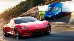 Mega-Überraschung - Tesla baut E-Brummi und neuen Roadster