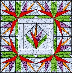 Inspiration, tools and techniques for beautiful quilts Patchwork Quilt, Paper Pieced Quilt Patterns, Quilt Block Patterns, Scrappy Quilts, Foundation Patchwork, Foundation Paper Piecing, Quilting Tutorials, Quilting Projects, Quilting Designs
