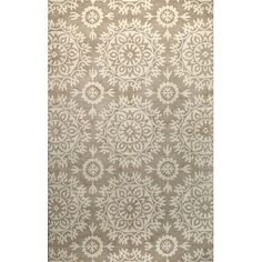 FREE SHIPPING! Shop Wayfair for Bashian Rugs Norwalk Taupe Floral Area Rug - Great Deals on all Decor products with the best selection to choose from!
