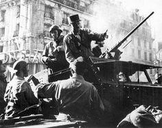 23 août 1944 Les troupes du général Leclerc foncent vers Paris