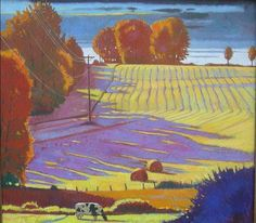 Brian Keeler Studio Artwork Gallery...love the way he composed this and the color of the shadows