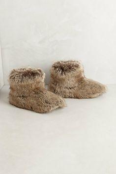 Lynx Slippers #anthropologie