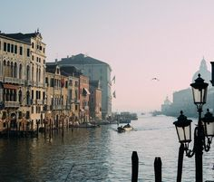 Morning on the Grand Canal...