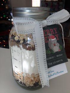 Ball Jar Christmas Cookies - Let's Get Crafty!