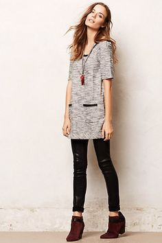 Beverly Knit Tunic #anthropologie
