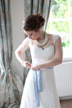 Classically Beautiful English Wedding