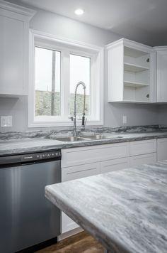Custom faucet and kitchen hardware in this Birmingham design!