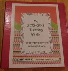 IBTEACHNU Language Arts: Teaching Binder