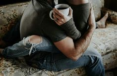 Your lap and a morning cuppa. The absolute best.
