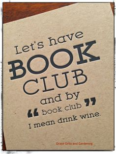 Raise your hand if you belong to a book club like this. My hand is up!  www.gracegritsgarden.com https://www.facebook.com/GraceGritsGardening