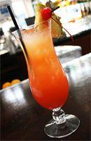 SEXE ON THE BEACH  2 cl of vodka (1 shot) -  2 cl of melon liqueur -  2 cl of chambord  - 6 cl of pineapple juice (3 shots)  - 6 cl of cranberry juice
