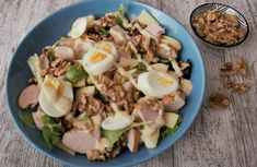 Cobb Salad, Ham, Potato Salad, Salads, Potatoes, Yummy Food, Lunch, Baking, Healthy