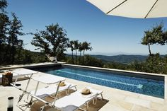 Holiday residences in Italy with an amazing swimming pool area with a view.