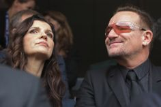 Bono from U2 and his wife Ali Hewson at the Memorial for Nelson Mandela, Johannesburg, South Africa, December 10, 2013   #u2NewsActualite #u2NewsActualitePinterest #u2 #bono #PaulHewson #music #rock #AliHewson #AlisonHewson   http://popbonobuzzbaby.tumblr.com/post/69578051280/bono-and-his-wife-ali-at-the-memorial-for-nelson